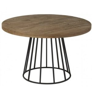 NEO-100279E-Round-Custom-Made-Metal-Dining-Table-1