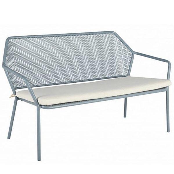 Metal Garden Two Seater Sofa