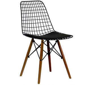 NEO-102311E-Metal-Wire-Chair-With-Wooden-Leg2