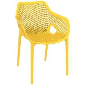 NEO-200007E-Hotel-Restaurant-Perforated-Plastic-Armchair-2