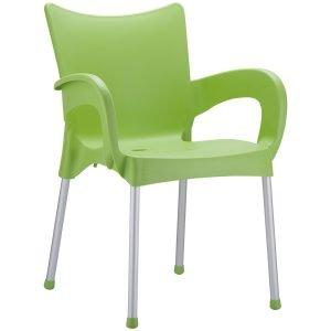 NEO-200043E-Plastic-Garden-Armchair-Aluminum-Legs-2