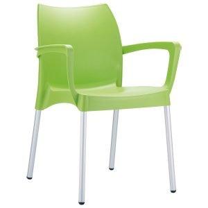 NEO-200047E-Plastic-Outdoor-Armchair-Aluminum-Legs-2