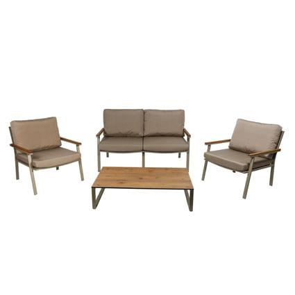 Neo 750033e Garden Sofa Set Aluminum
