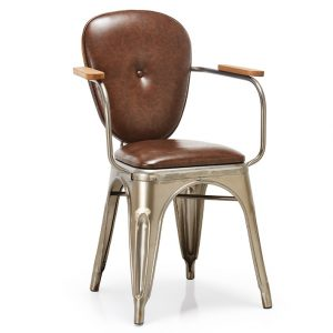 NEO-250166E-Farm-Style-Metal-Chair-Upholstered-Seat-And-Back-2