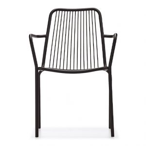 NEO-251125E-Metal-Wire-Outdoor-Dining-Chair-With-Armrest-2