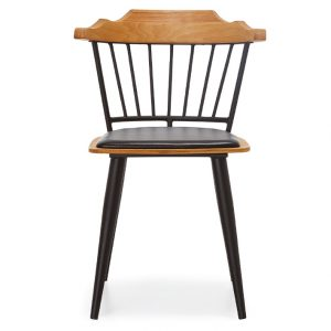 NEO-251149E-Metal-And-Wood-Padded-Cafe-Chair-2