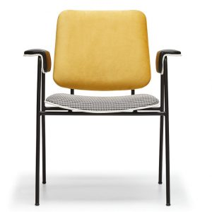 NEO-250186E-Mid-Century-Upholstered-Metal-Chair-Indoor-2