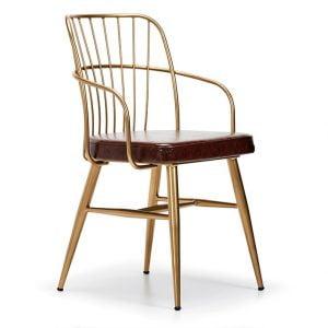 NEO-251194E-Spindle Back-Chair-Armrests-Metal-Base-2