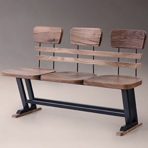 Industrial-Wooden-Metal-Bench-With-Back-1-NEO-300625E